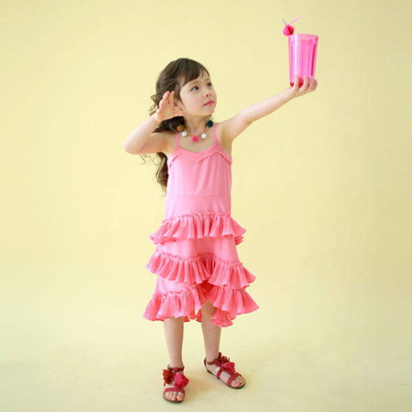 Jolie Pleated Dress [5-6 YRS, 6-7 YRS]