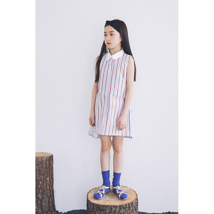 [BERRY BERRY] Ilan Stripe Dress - LIGHT BLUE