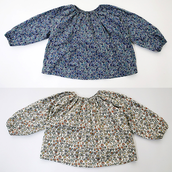 Helena Floral Puff Blouse