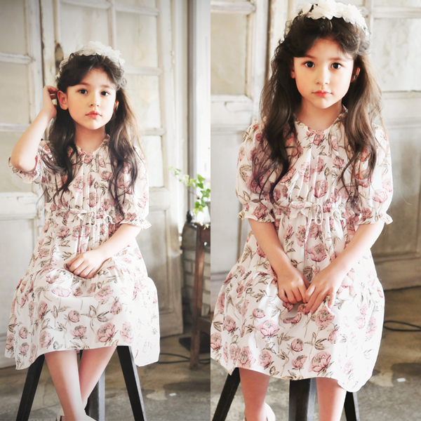 Bella Floral Dress [4-5 YEARS]