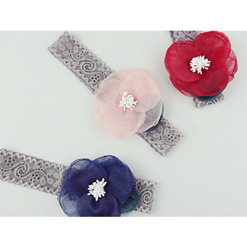 Taylor Flower Organza Hairband