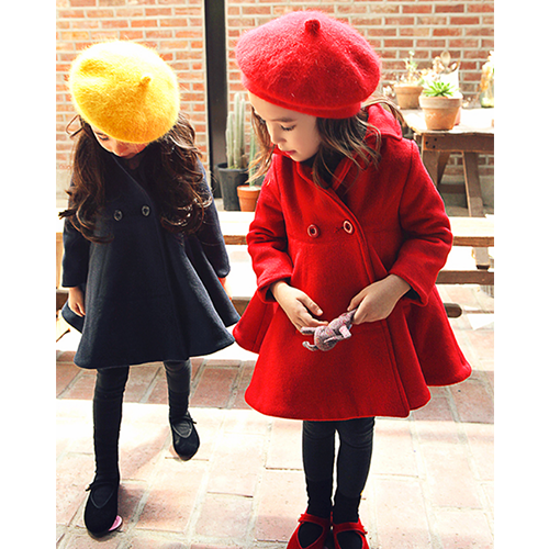 Cindy Flare Coat [4-5 YEARS]