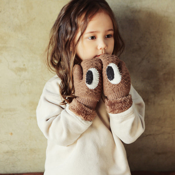 Al Eye Mittens, kids winter gloves