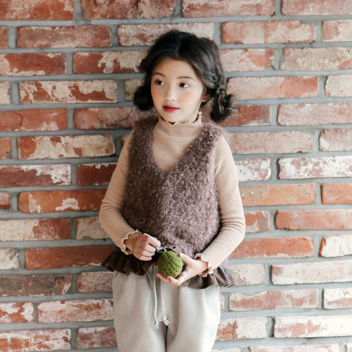 Bailey Ribbed Top for little girls
