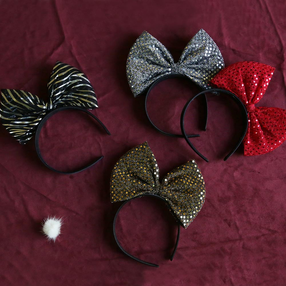 Banquet Ribbon Headband for little girls