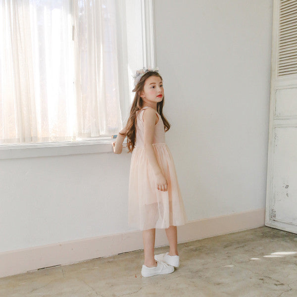 Brice Tulle Dress [IVORY]