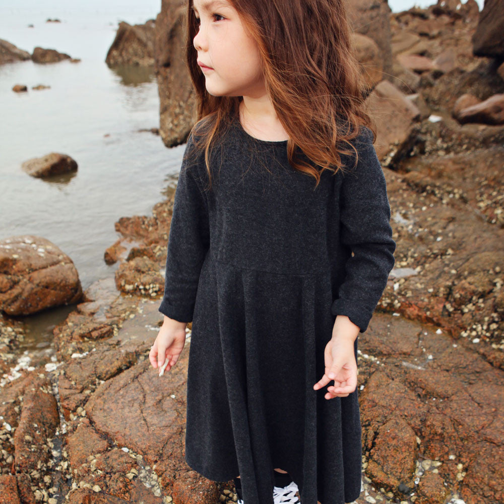 Bright Long Sleeve Dress for little girls