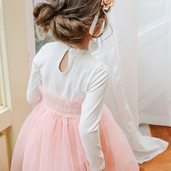 Chandler Tulle Dress for little girls, Tulle dress in pink