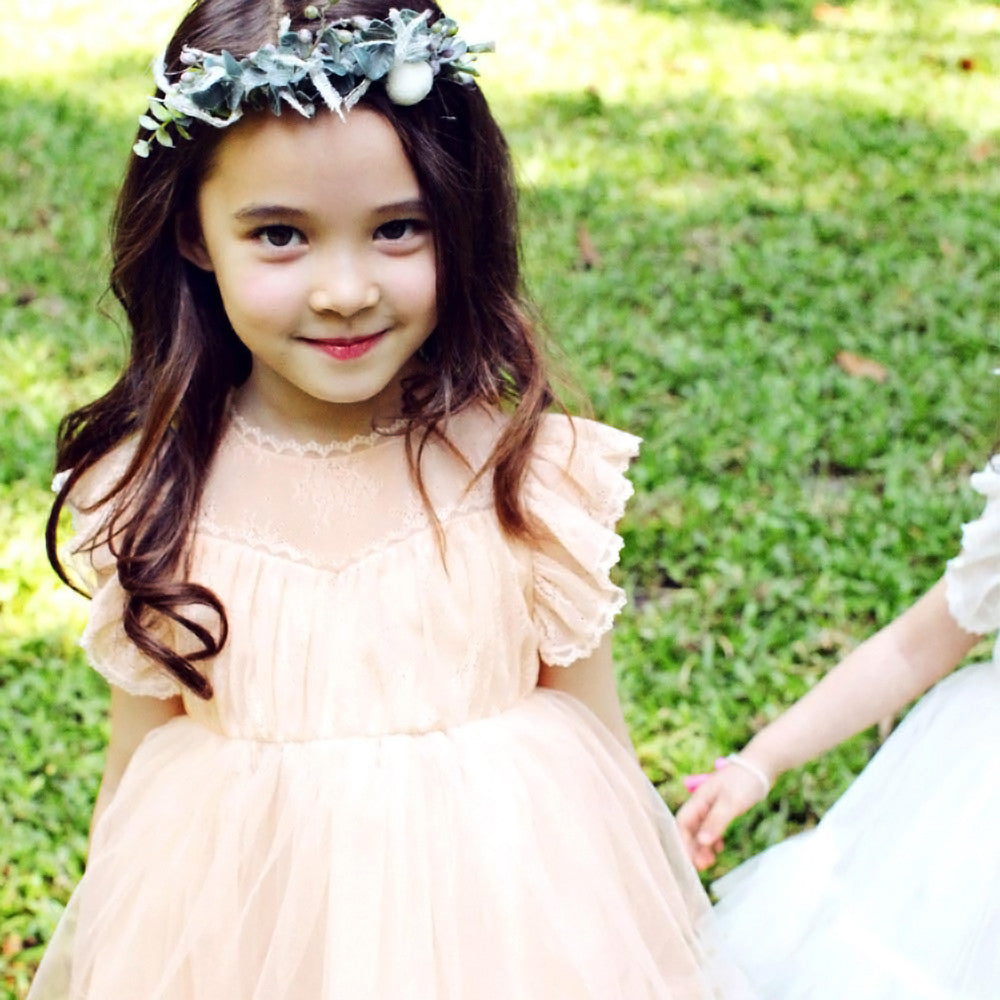 Charlotte Royal Dress, little girls tulle dress
