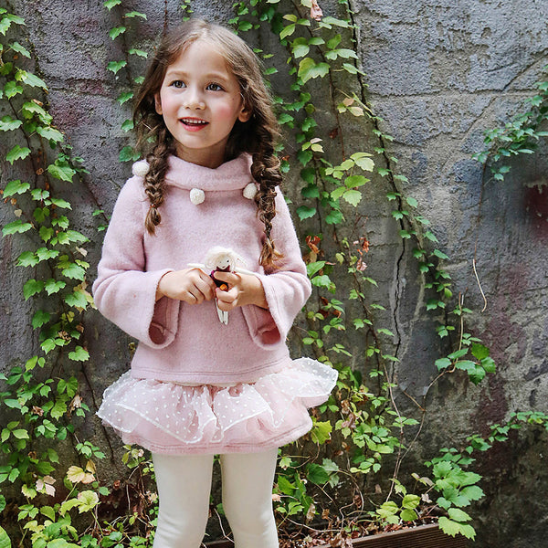 Cole Skirted Leggings for little girls