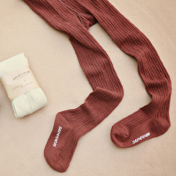 Dara Knitted Tights for girls