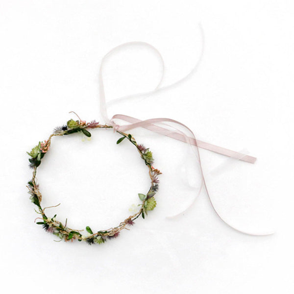 Fiona Head Wreath for flower girls