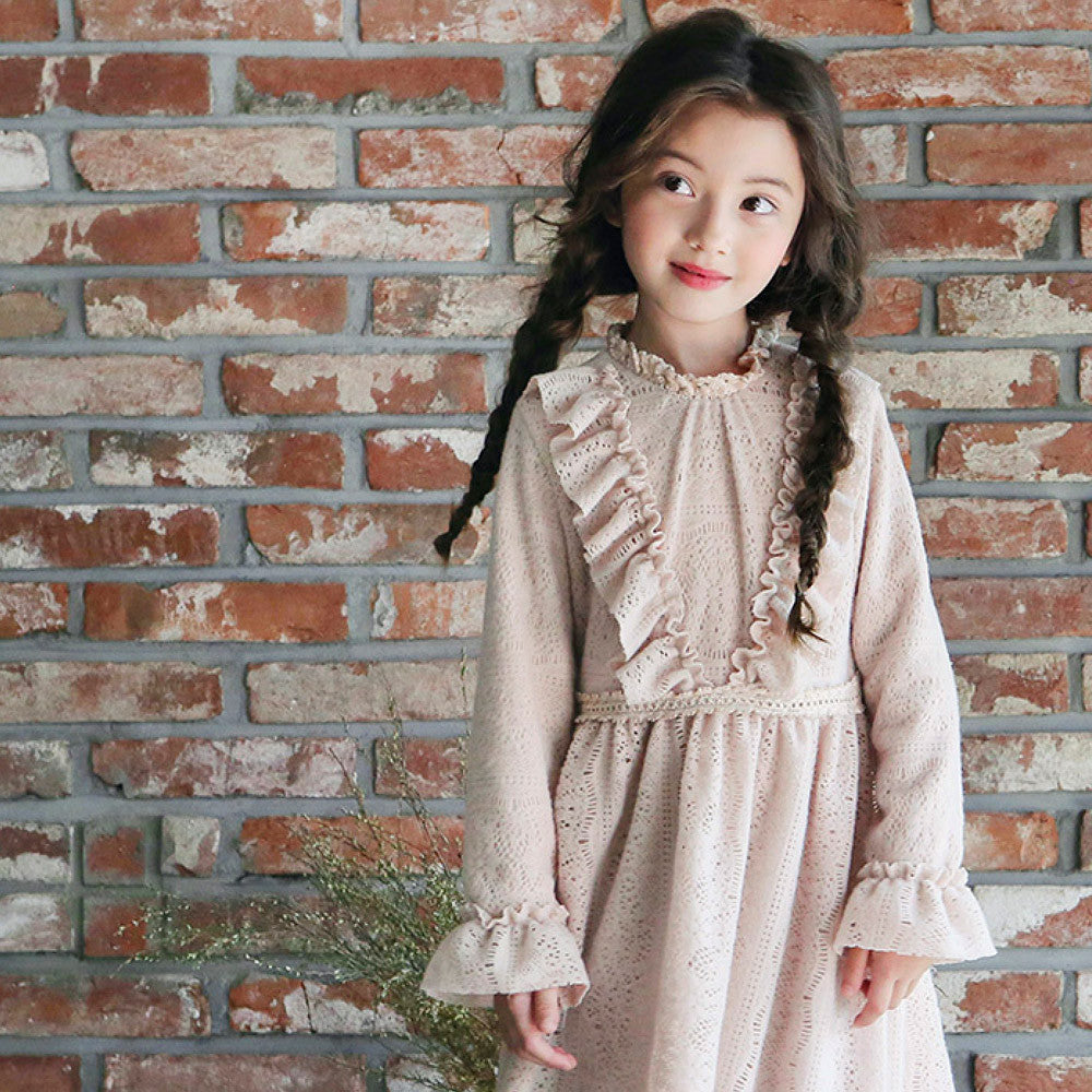 Gwen Lace Dress [PINK / 2-3 YRS]