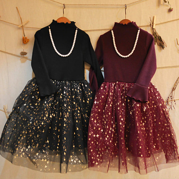 Jazzy Banquet Dress, little girls tulle dress
