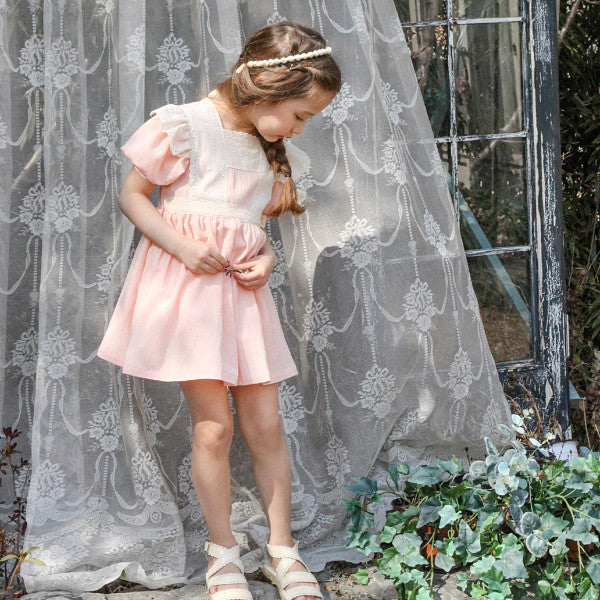 Kensington Ruffle Dress [6-7 YRS]