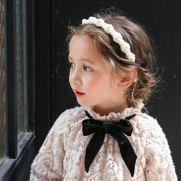 Luz Pearl Headband for little girls