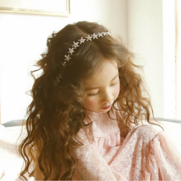 Morgan Star Hairband, star hair piece for little girls