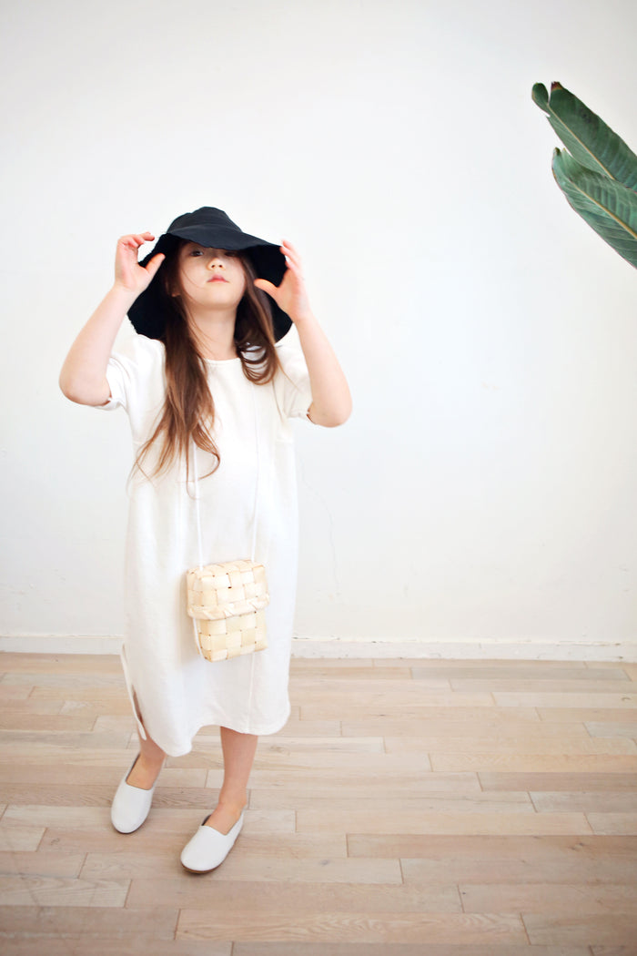 [Bien A Bien] Jude Shirring Dress - WHITE