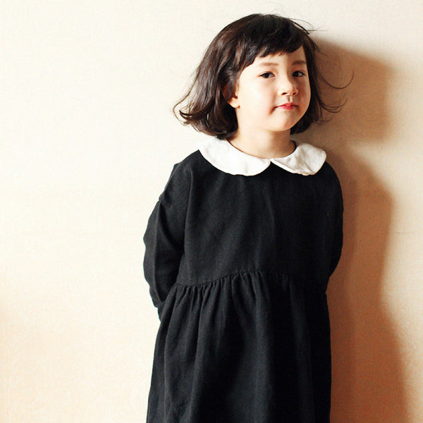 Rocha Maxi Collar Dress with a peter pan collar for little girls