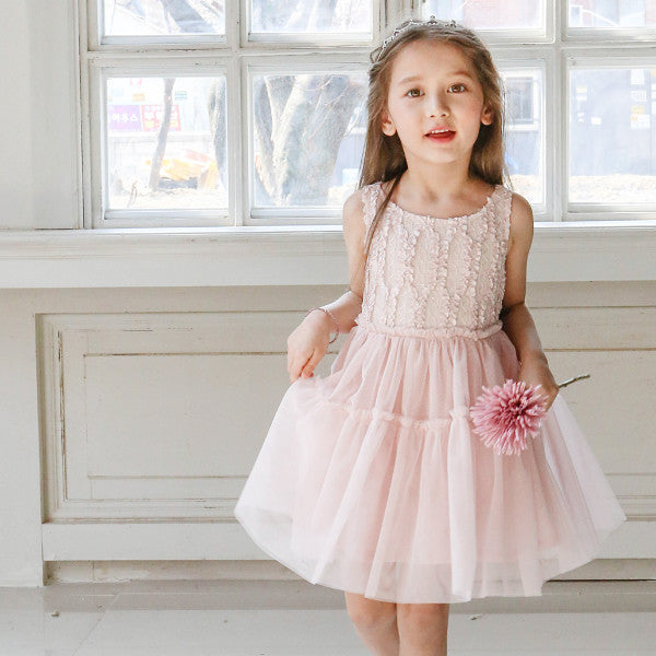 Seren Tulle Dress [PINK / 3-4 YRS]