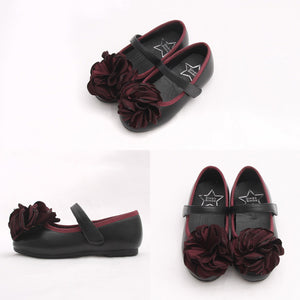 Shane Corsage Flats for little girls