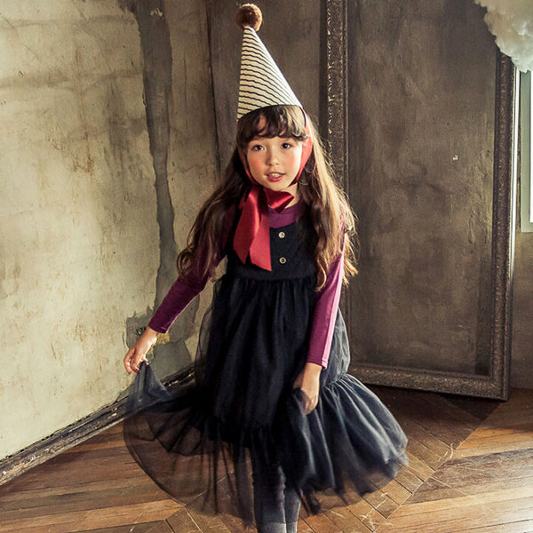 Sofia Tulle dress for little girls in black