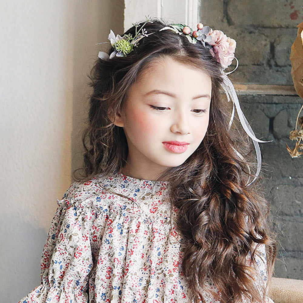 Spring Floral Hairband, little girls flower hair accessory