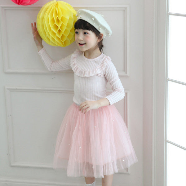 Tracy Tulle Skirt, little girls tulle skirt in pink