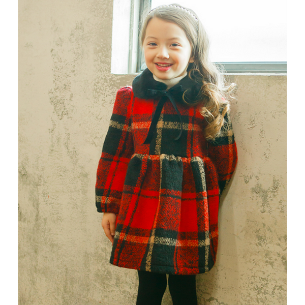 Alice Tartan Plaid Check Dress [2-3 YEARS]
