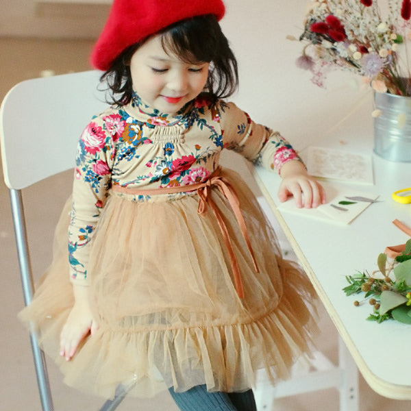 Valley Floral Dress for little girls