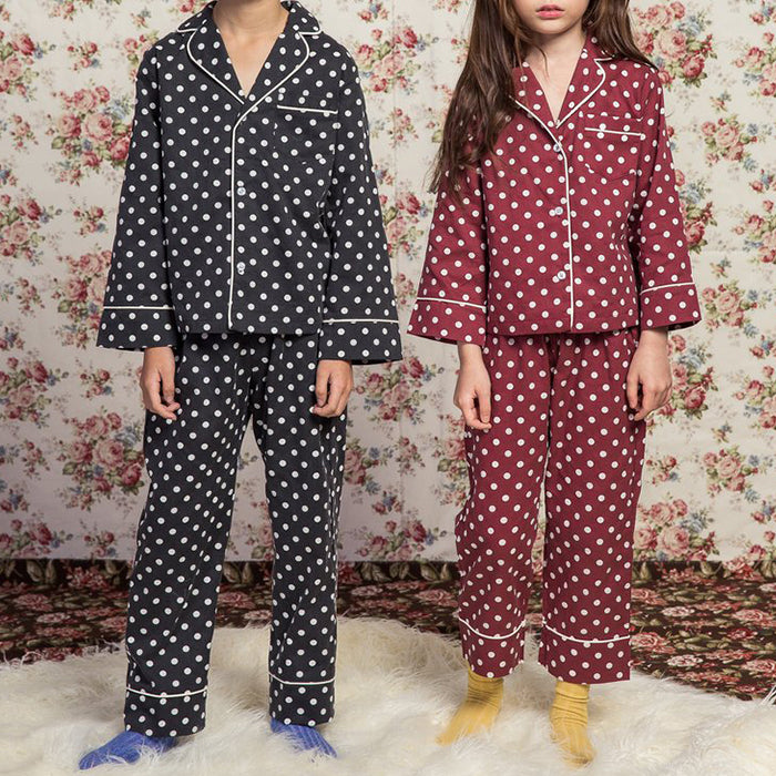 Brent Polka Dot PJ Set