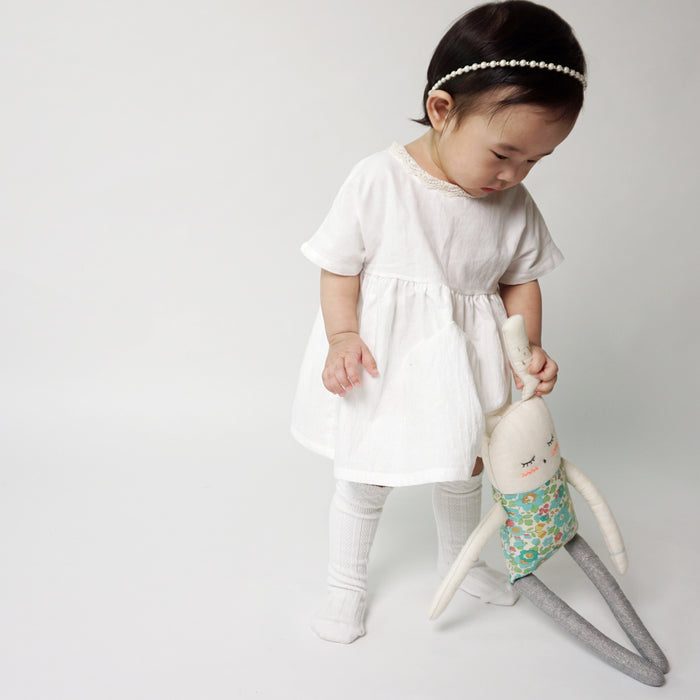 Nora Dress [BEIGE / 4-5 YRS]