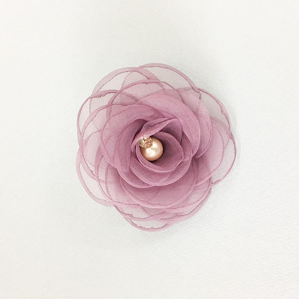 Calla Rose Hair Clip [PURPLE]
