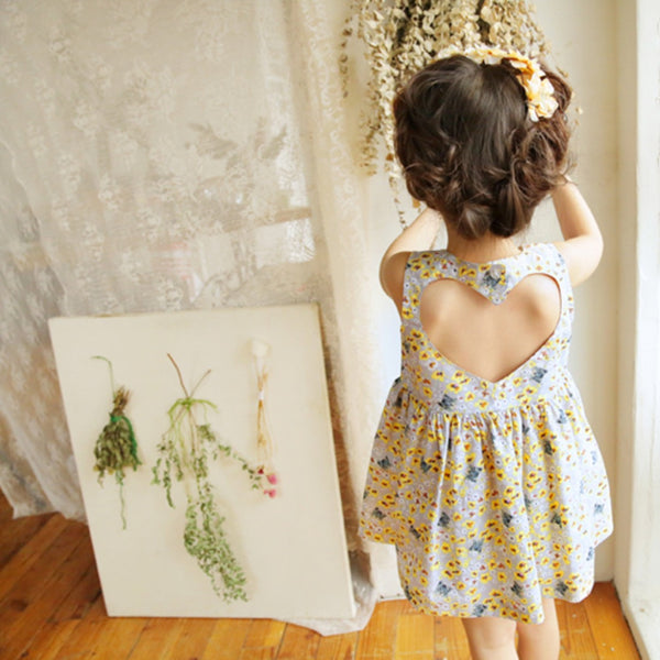 Lovey Sleeveless Dress [6-7 YEARS]