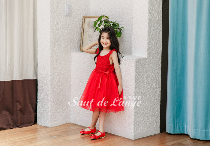[Saut de L'ange] Madigan Tulle Dress - RED