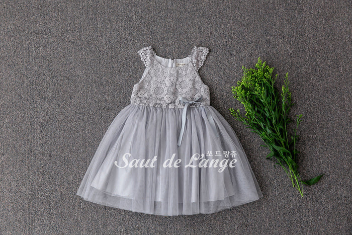 [Saut de L'ange] Madigan Tulle Dress - GREY