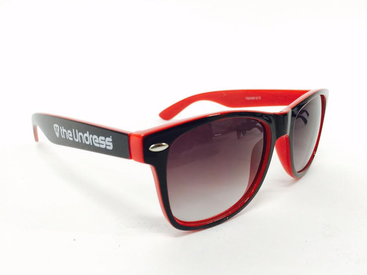 The Undress SPORT Sunglasses - Red & Black