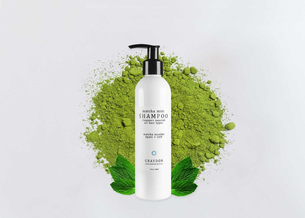 A Hairstylists Take on Graydon's Matcha Mint Shampoo