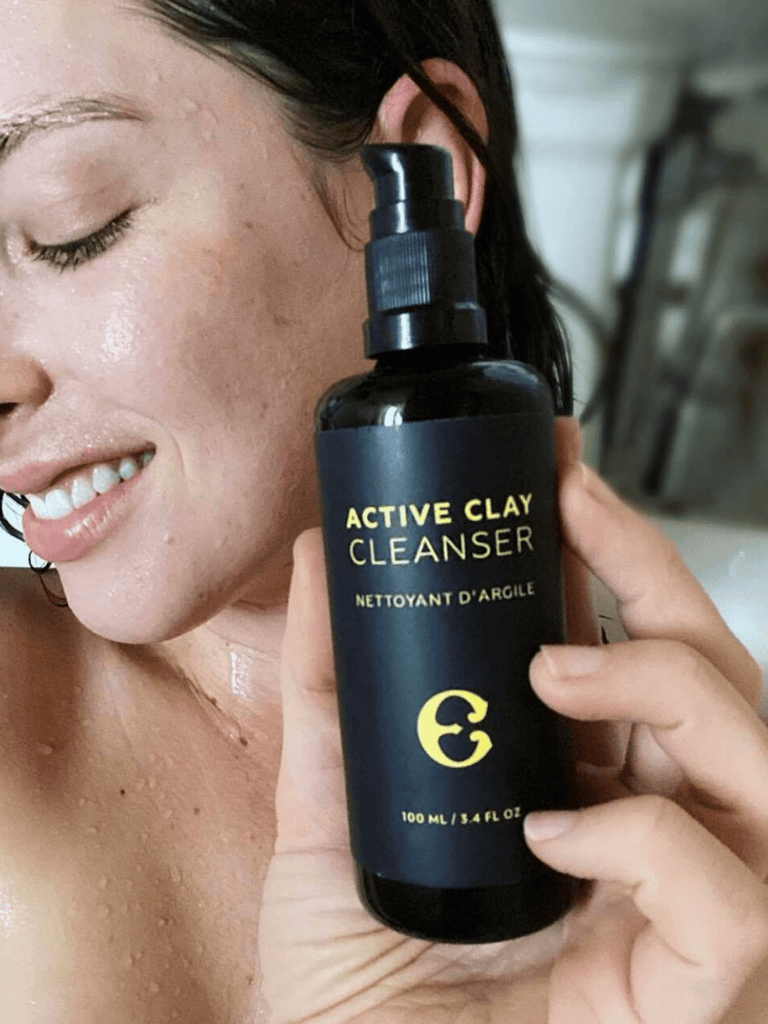 Etymologie | Active Clay Cleanser [with Muslin cloth] - Oak + Tonic