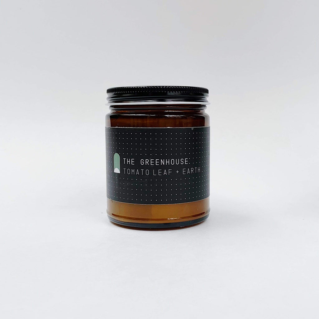 FieldKit Co.| Greenhouse Candle [Tomatoe Leaf + Basil] - Oak + Tonic