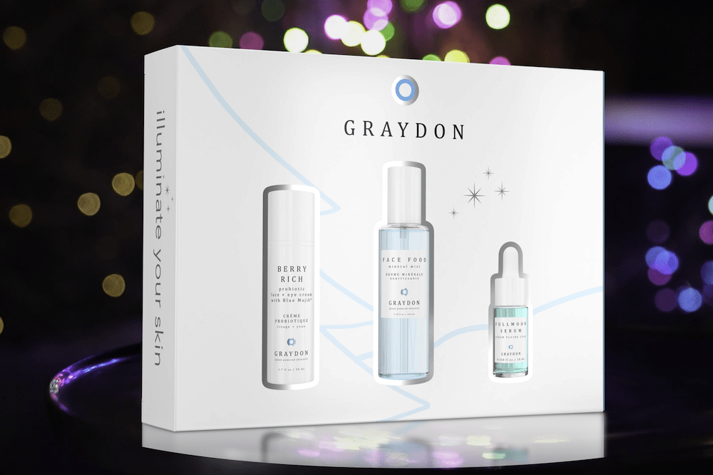 Graydon Plant Powered Skincare Face Cleanser Gift Set Graydon | Exclusive Holiday Set