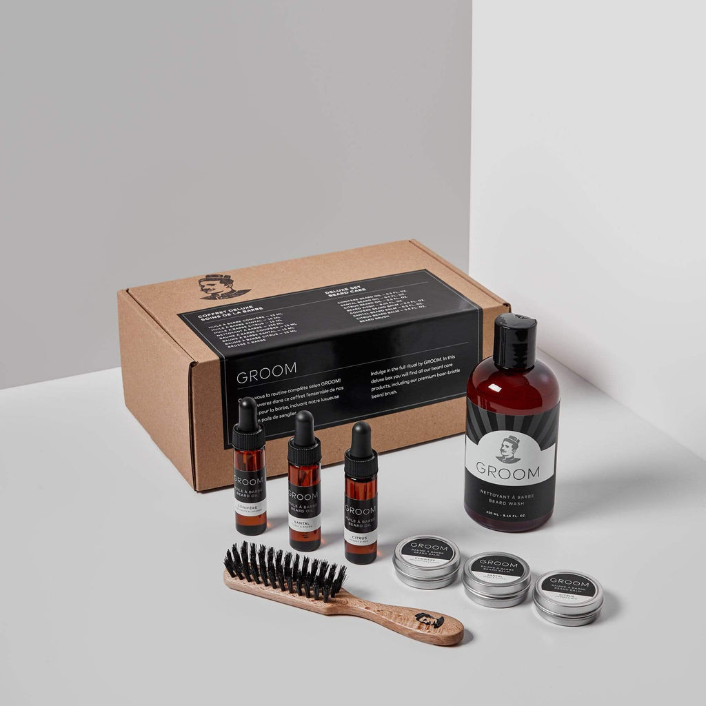 GROOM | DELUXE SET - BEARD CARE - Oak + Tonic