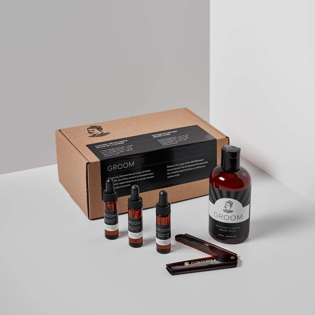 GROOM | INTRODUCTION SET - BEARD CARE - Oak + Tonic