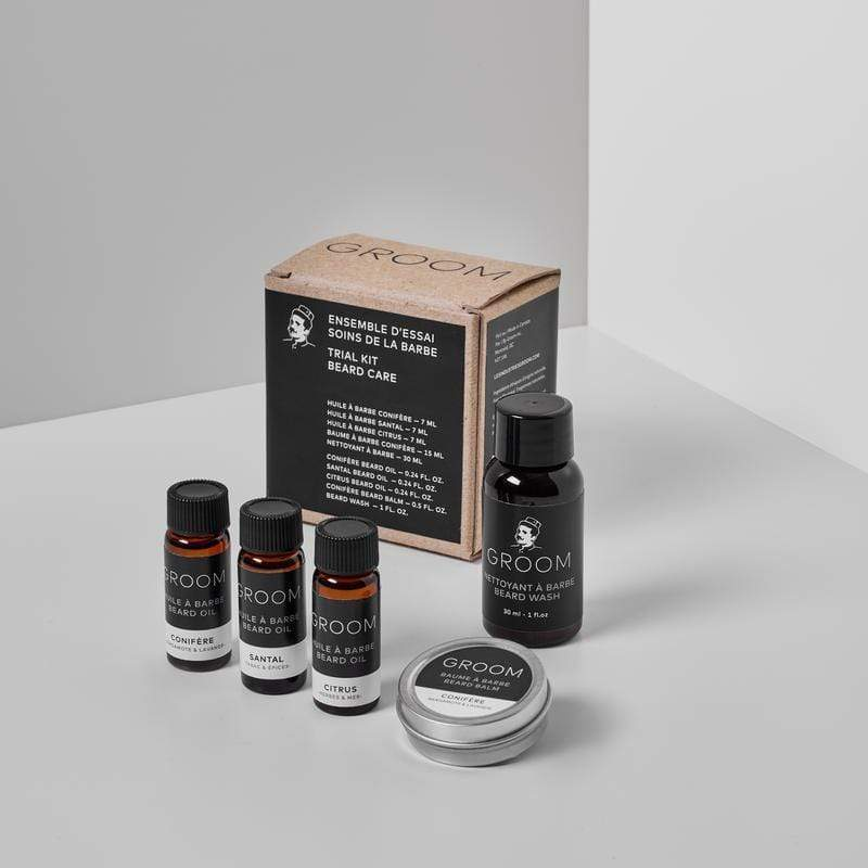 GROOM | TRIAL KIT - BEARD CARE - Oak + Tonic