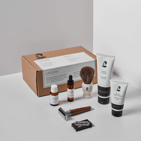 GROOM | DELUXE SET - SHAVING CARE - Oak + Tonic