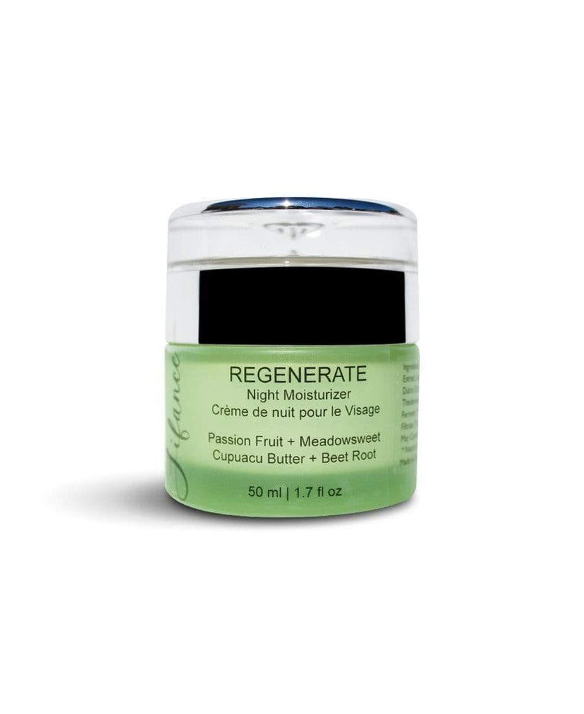 Lifance | REGENERATE Anti-Aging Hydration Night Moisturizer - Oak + Tonic