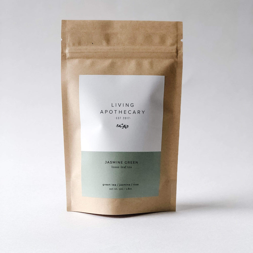 Living Apothecary Loose Leaf Tea 30 Servings Living Apothecary | JASMINE GREEN
