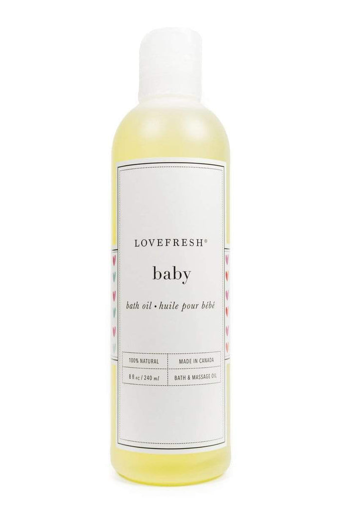 Lovefresh | Baby Bath & Massage Oil - Oak + Tonic