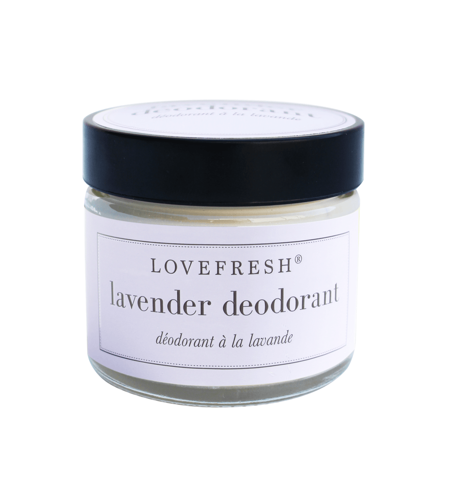 Lovefresh | LAVENDER JAR DEODORANT - Oak + Tonic