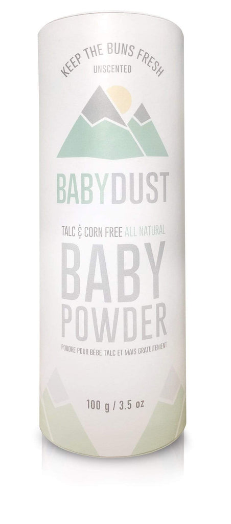 MAN DUST Body Powder MANDUST | BABYDUST UNSCENTED | 100 g